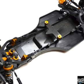 Exotek DEX 210 +8mm Carbon Fiber Chassis Kit