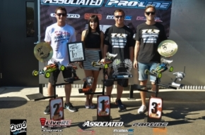 TLR Does It Again!! DAKOTA PHEND 2WD National Champ