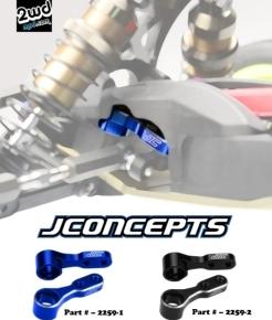 JConcepts RB6/RT6 Aluminum SteeringBell-Cranks