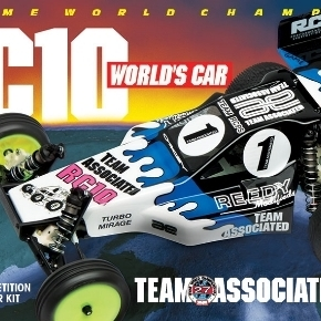 Re-Release of the RC10 World's Car!