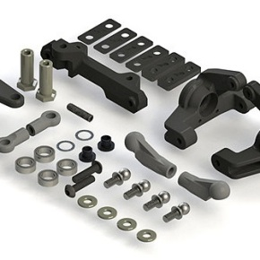 Bell Crank Steering System:22/2.0/T/SCT