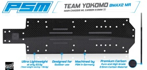 PSM Releases 2.5mm Carbon Chassis for Yokomo BMax2 MR