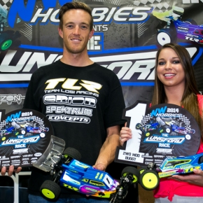Dustin Evans on Top at Lunsford Race