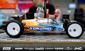 Lee Martin's Yokomo YZ2 @ the EOSSlovakia